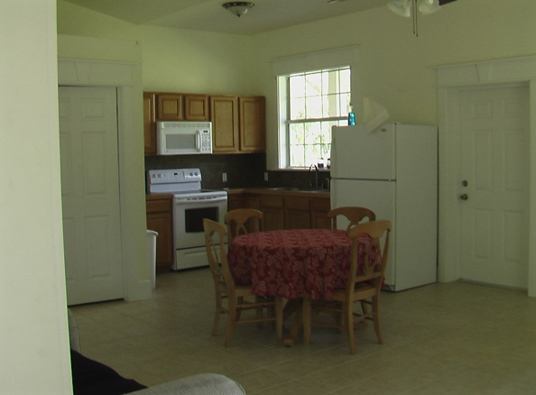 WelBreds Show Barn apartment kitchen